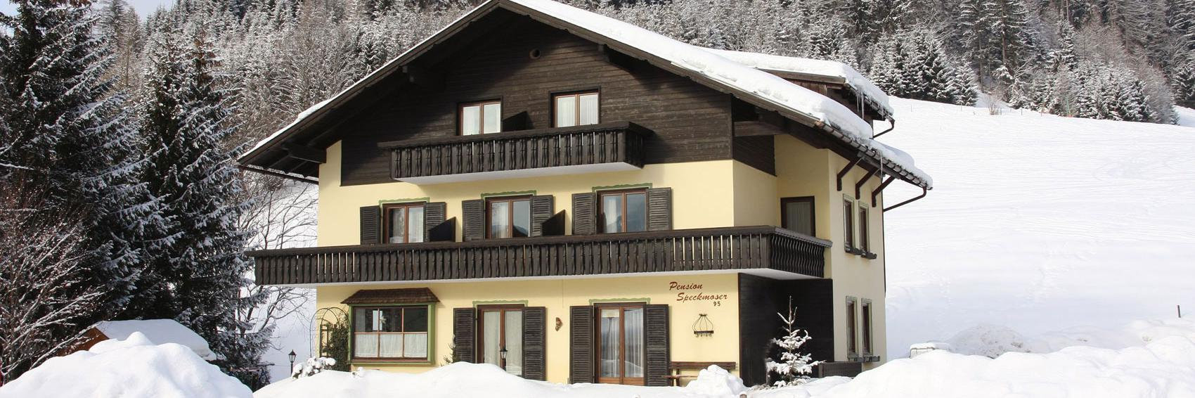 Winterfoto-3* Pension Speckmoser